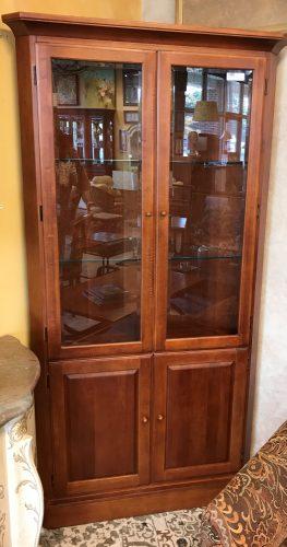 Thomasville Furniture Co. Corner Cherry Cabinet