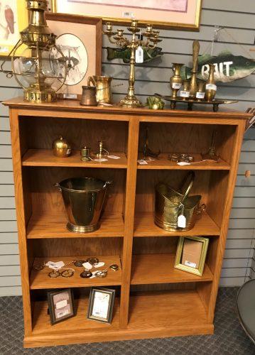 Double Oak Bookcase