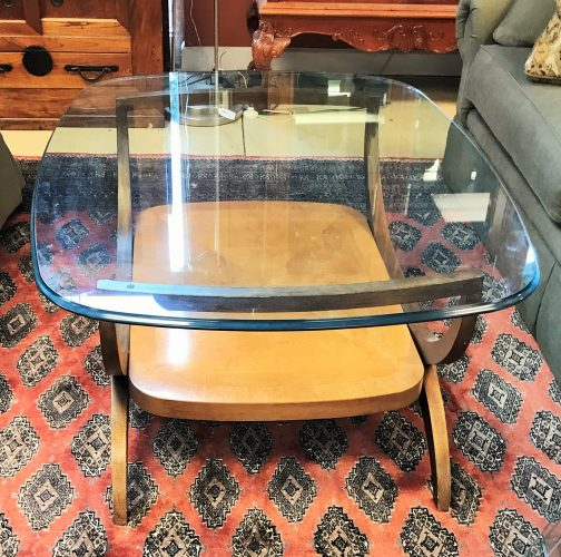 Vintage Henredon Glass Coffee Table