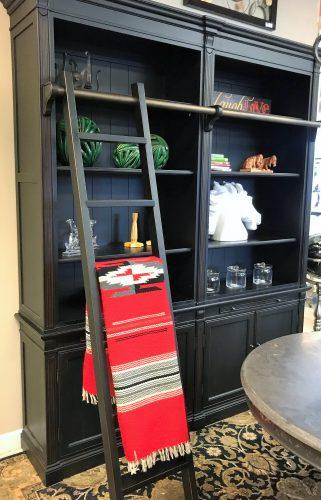Arhaus Black Athens Bookcase