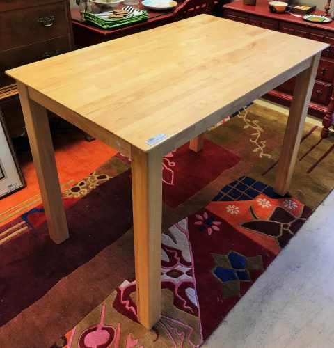 Naked Furniture Co. Butcher Block Counter Height Table