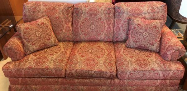Ethan Allen Furniture Co. Sofa-Couch And Love Seat Sold Separate