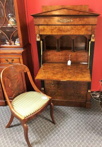 Antique Baker Furniture Co Secretary Desk