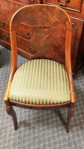 Antique French Empire Accent Chair