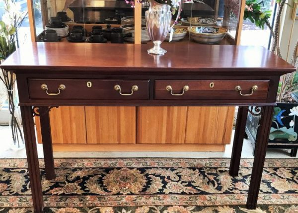 Hickory Furniture Co Cherry Console