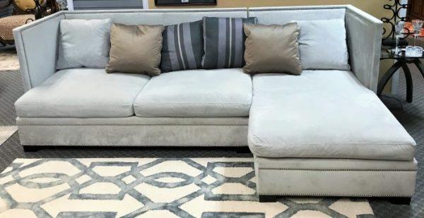2 Piece Custom  Contemporary Sectional Sofa