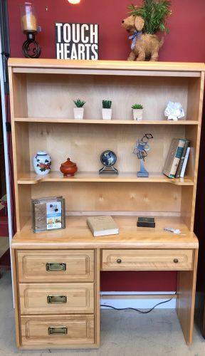 Shermag Furniture Co Desk-Hutch And Dresser Sold Separate
