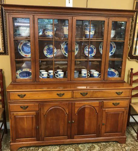 Vintage Pennsylvania House Cherry China Cabinet