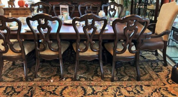 Stanley Furniture Co Dining Room Set And Sideboard Sold Separate